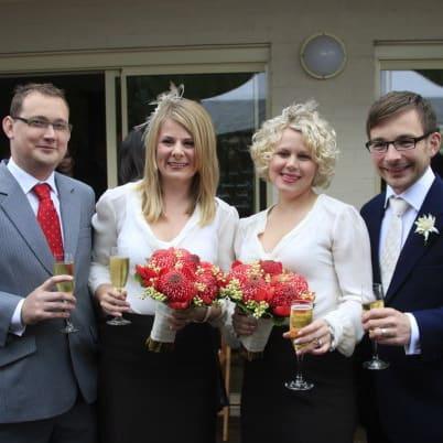 Kathleen Brewster, Bridesmaid dresses, bridal, fashion, dressmaker