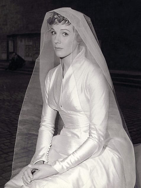 The Sound Of Music Wedding Dress