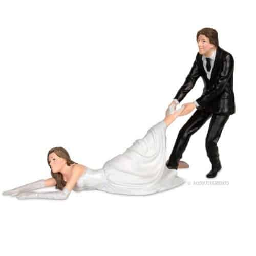 Reluctant-Bride-Wedding-Cake-Topper