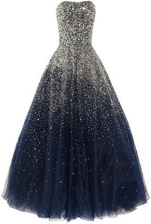 Marchesca night sky dress