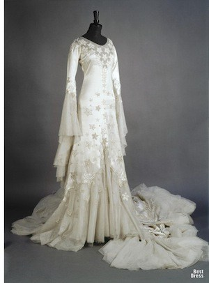 norman hartnell star dress